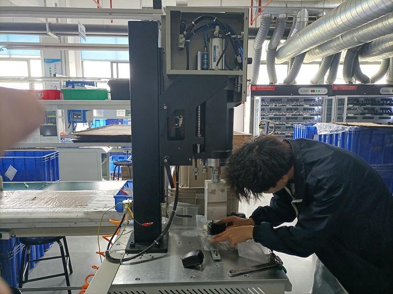 超声波塑料焊接机的主动部件