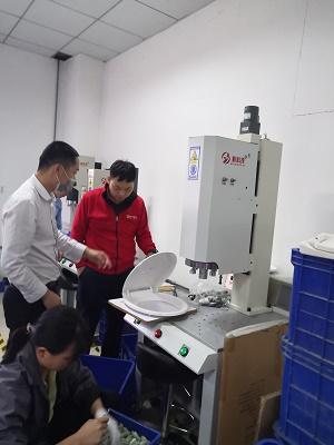 怎么处理超声波焊接工件时表面出现伤痕的问题