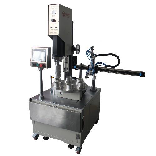 多工位转盘超声波焊接机