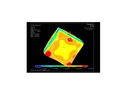 选择超声波模具厂家要看是否有模具分析软件技术